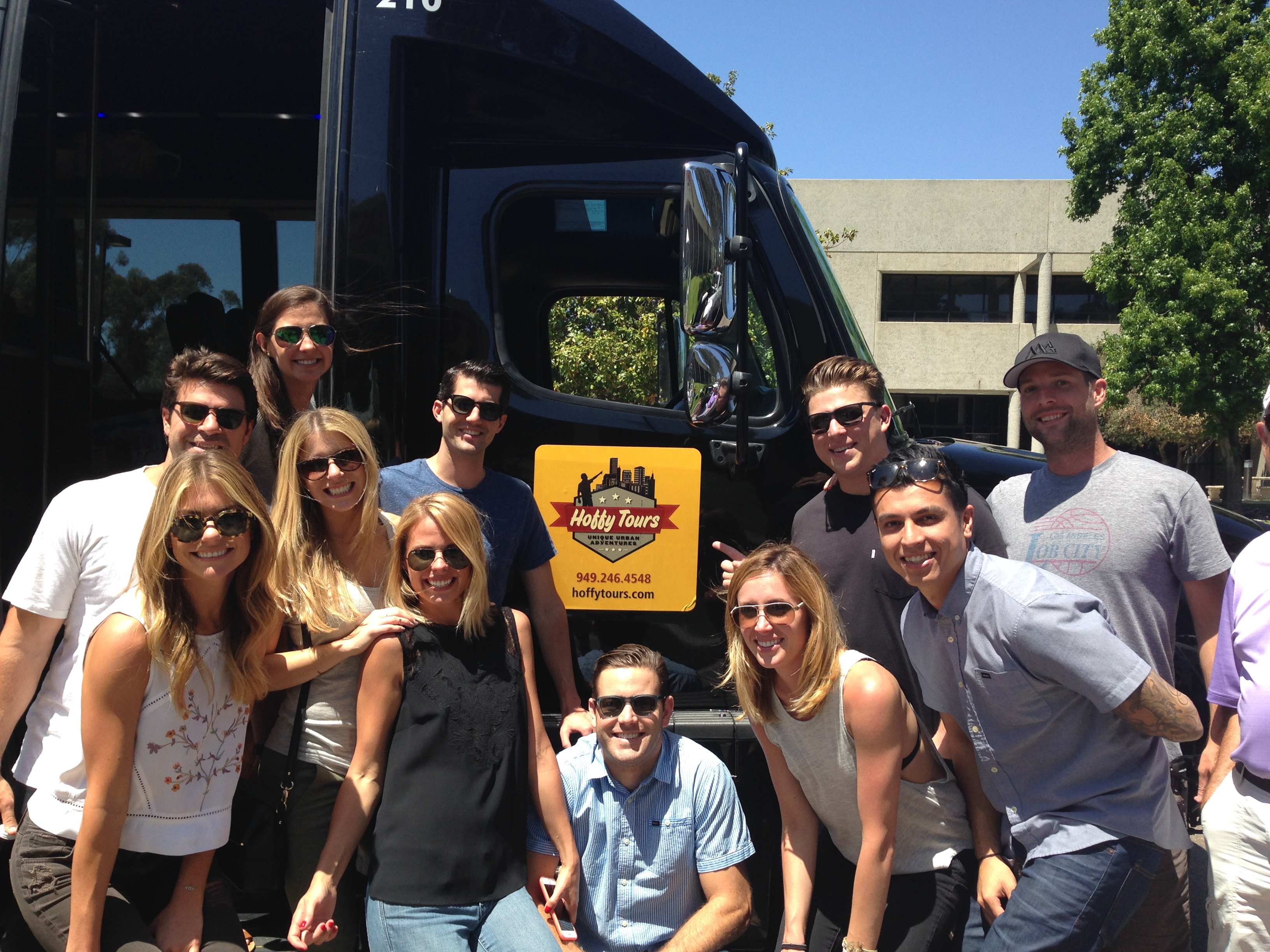 Hollywood celebrity bus tours