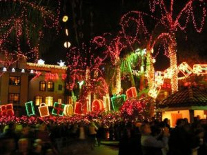Holiday Treat: Riverside's Mission Inn, Festival of Lights, & Citrus Museum @ Act V (Lot 16) Parking Lot | Laguna Beach | California | United States